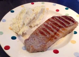 Mash steak 1