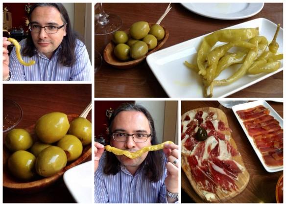 Collage Olives