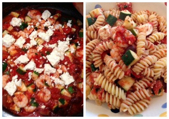 Collage Sauce and Fusilli