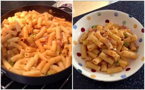 Collage Tortiglioni Sauce