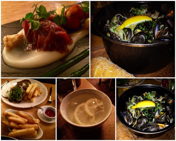 Collage Mussels