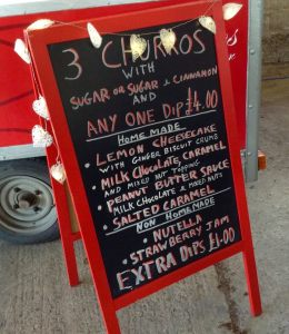 Churros Sign