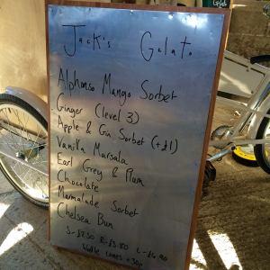 Jack's Gelato Sign
