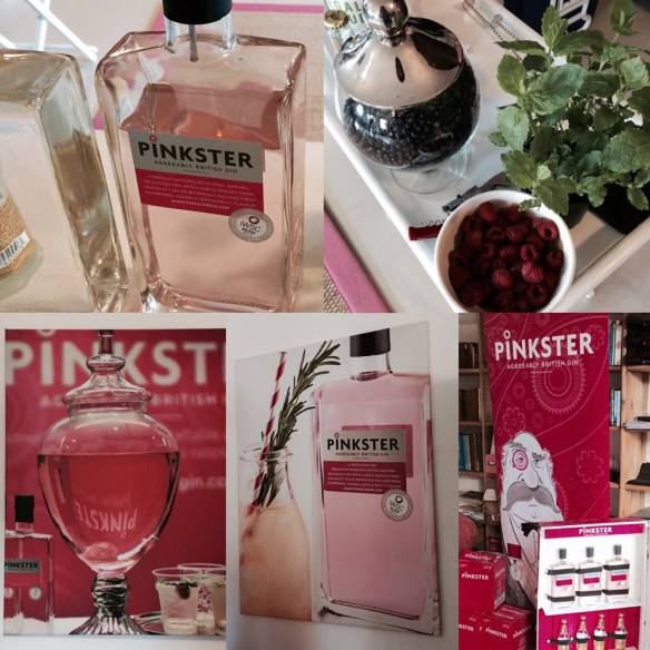 Collage Pinkster Gin