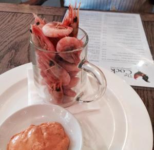 Half pint prawns