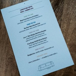 Provenance Kitchen Menu