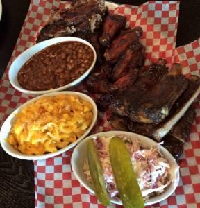 Pig Out BBQ Jr Platter