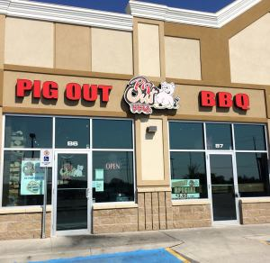 Pig Out BBQ Outside