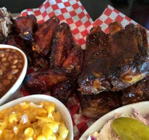 Pig Out BBQ Wings Ribs