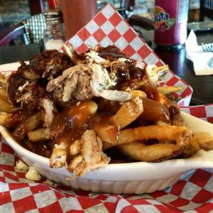Pulled Pork Poutine