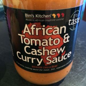 Bim's Kitchen African Tomato & Cashew Curry Sauce