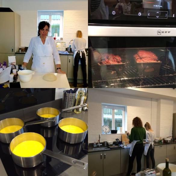 Collage Cambridge Cookery School