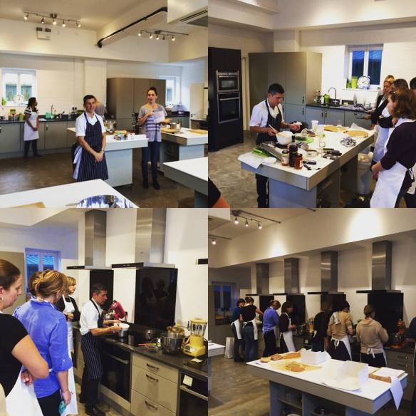 Collage Cambridge Cookery School