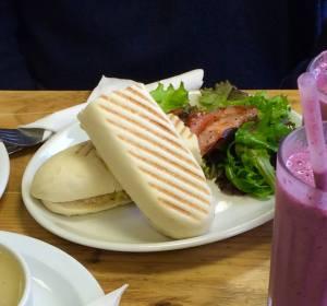 Mexican tuna panini
