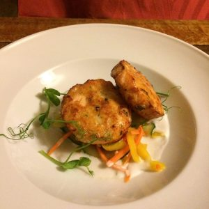 Salmon Prawn Fishcakes