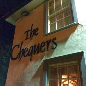 The Chequers Outside