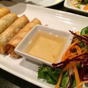 Vegetable Spring Rolls Plum Sauce