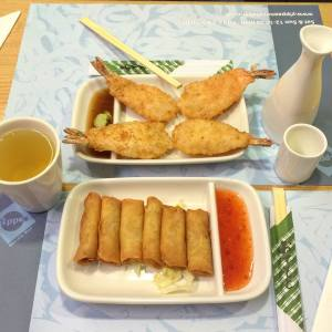 Yippe Noodle Bar Tempura Spring Rolls