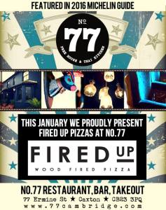 Fired Up No.77 Advert