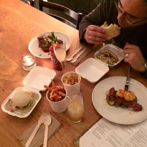 Guerrilla Kitchen feast