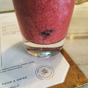 Novi mixed berry smoothie