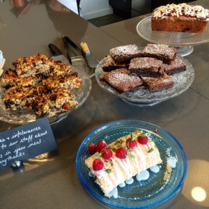 Cambridge Cookery School Cafe Cakes