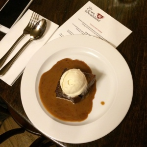 Crown & Punchbowl Sticky Toffee Pudding