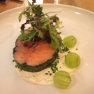 Flitch of Bacon salmon ballotine