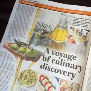Cambridge News Olive Oil