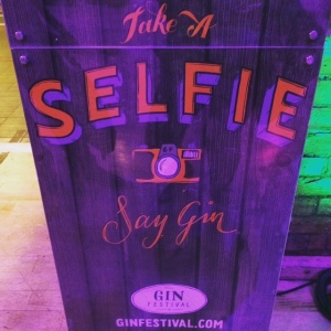 Gin Festival Selfie Stand