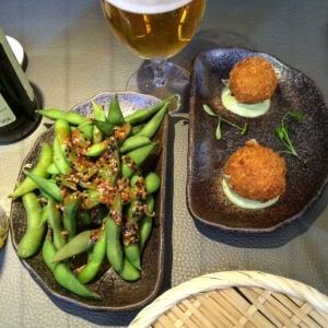 Sticks n Sushi Cambridge Edamame & Crab Croquettes