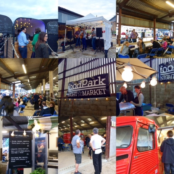 foodPark NIGHT MARKET Collage