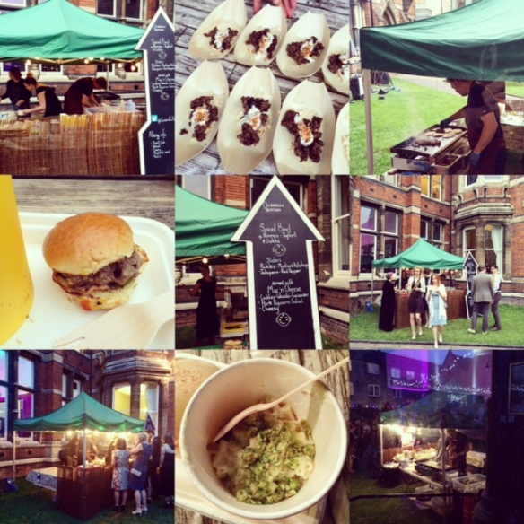 Guerrilla Kitchen Cambridge Union Collage