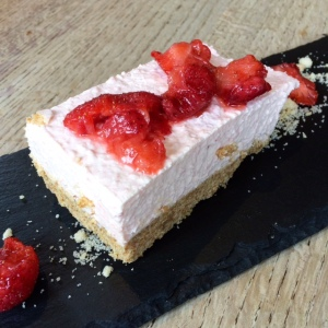 The Plough Shepreth Cheesecake