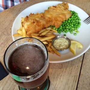 The Plough Shepreth Fish Chips Ale