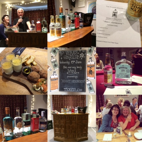 Vera's Gin Club Collage