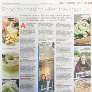 One Two Culinary Stew Cambridge Independent January 2018