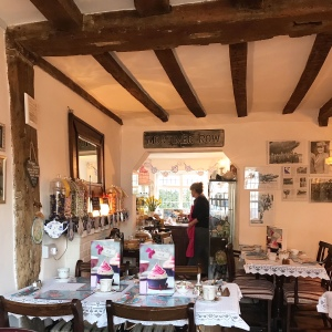 Lavenham Blue Tea Room