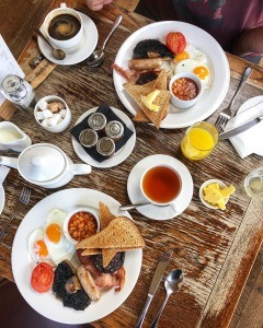 The Crown & Punchbowl Cambscuisine Horningsea Cambridge English breakfast