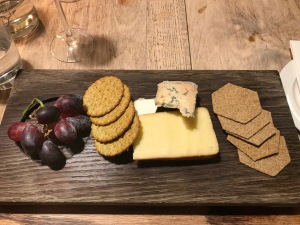 The Crown & Punchbowl Cambscuisine cheese board