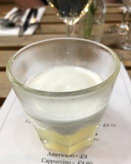 The Tasting Table Dulcedo gin lemon meringue cocktail