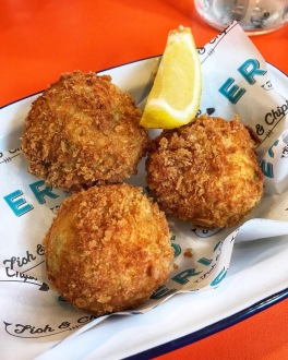 Eric's Fish & Chips St Ives Cambridgeshire arancini