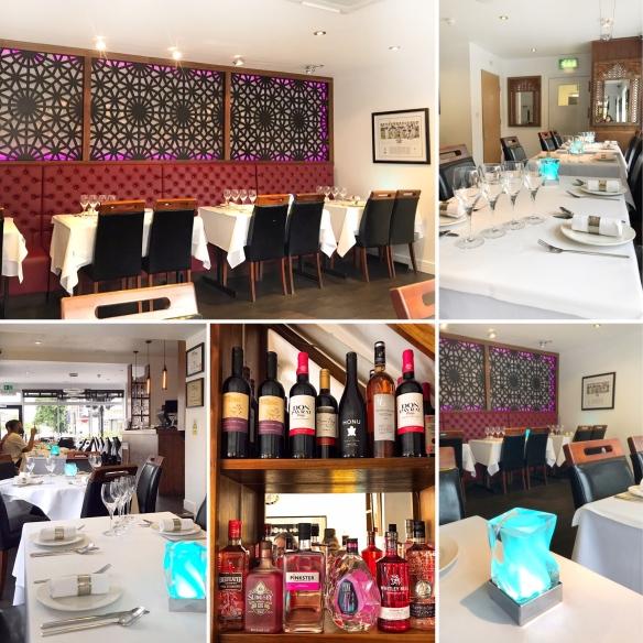 Prana Indian Restaurant Cambridge gin bar