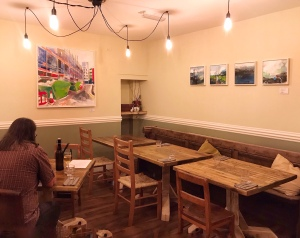 68 Market Street Ely tables and local art