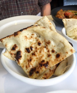 Prana Indian Restaurant Cambridge butter naan