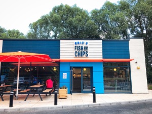 Eric's Fish & Chips St Ives Abbey Retail Park Harrison Way