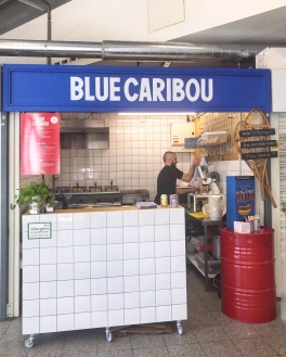 Blue Caribou Snack Bar du Quebec Manchester potatoes