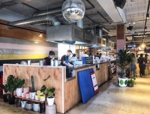 Blue Caribou Snack Bar Stretford Foodhall