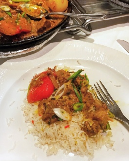Cam Spice Cambridgeshire Tawa Lamb pilau rice