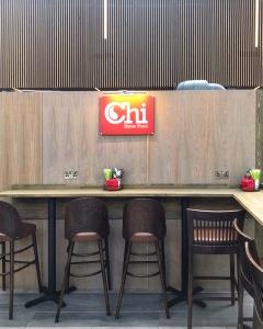 Counter seats Chi restaurant Food Social The Grafton Cambridge
